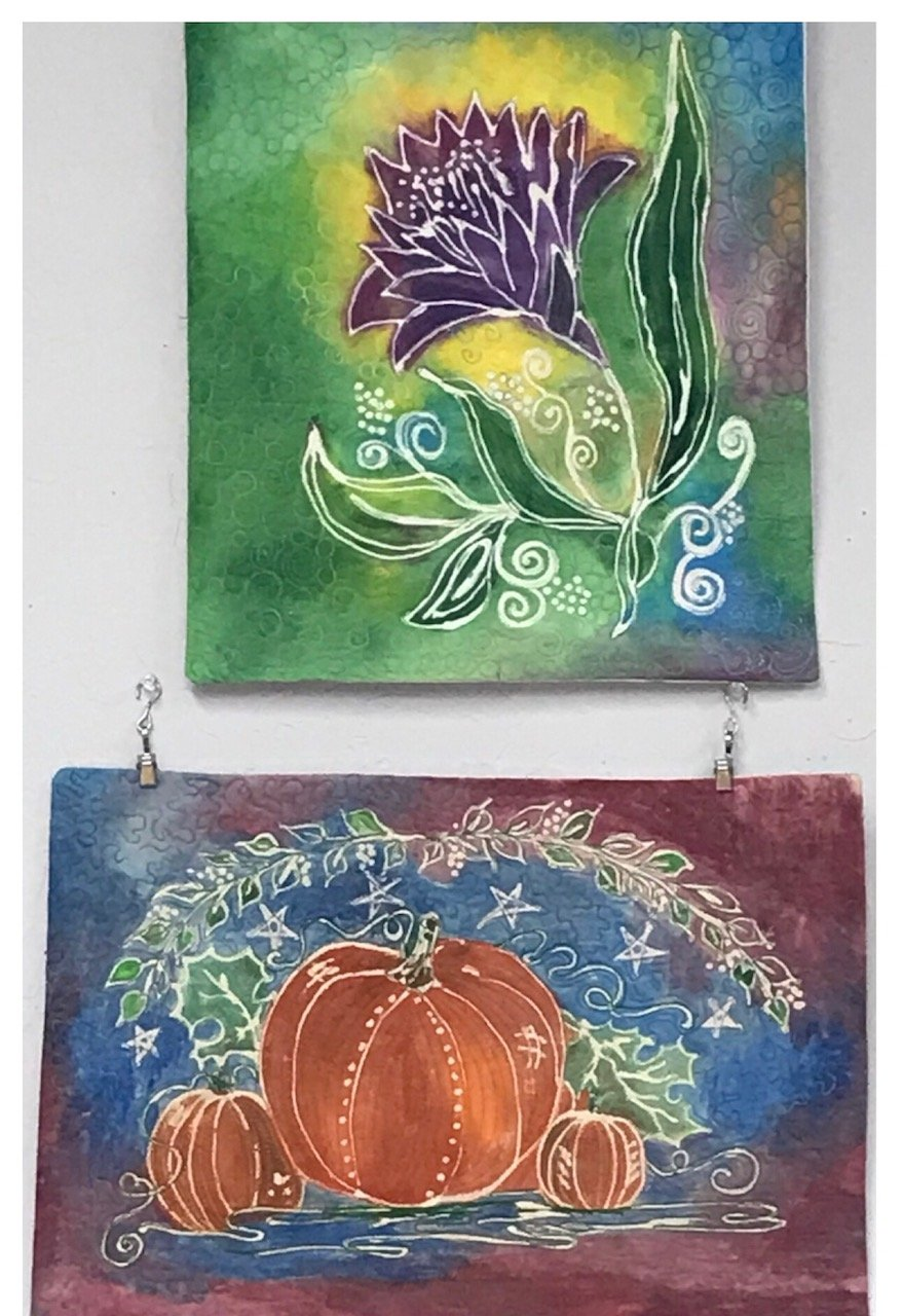 Design Fabric Paint Art