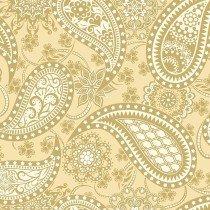 Jubilee Paisley WIDE Gold 5490-W-33B