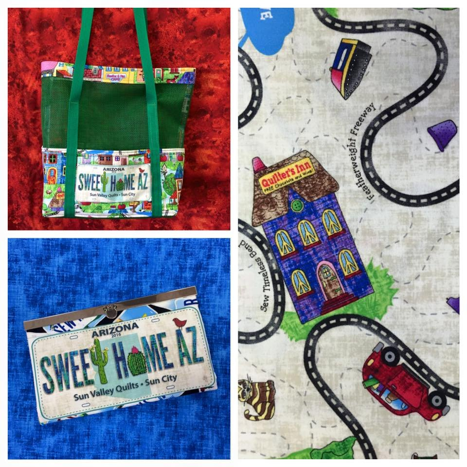 31009: Row by Row License Plate Bags : sun valley quilts - Adamdwight.com