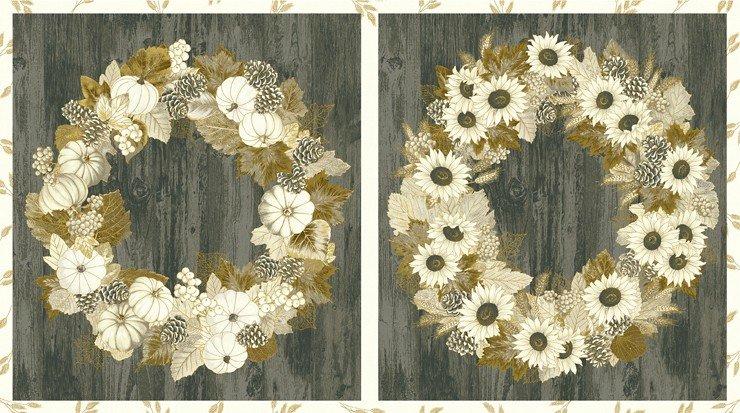 Autumn Beauties Metallic Vintage 24 Panel SRKM-19314-200