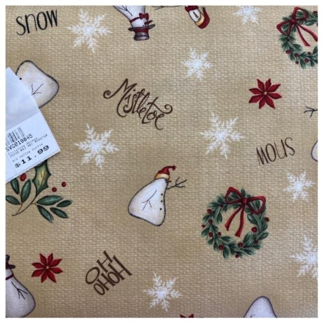 Christmas Whimsy 25208-BEI RED ROOSTER