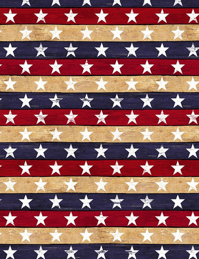 USA-C7047 USA Stars and Stripes