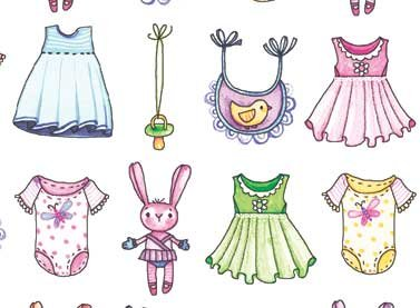 A Bundle of Pink Girly Clothes