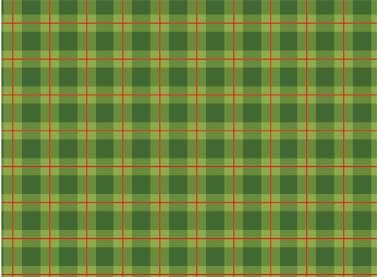Cozy Cabin Green Plaid