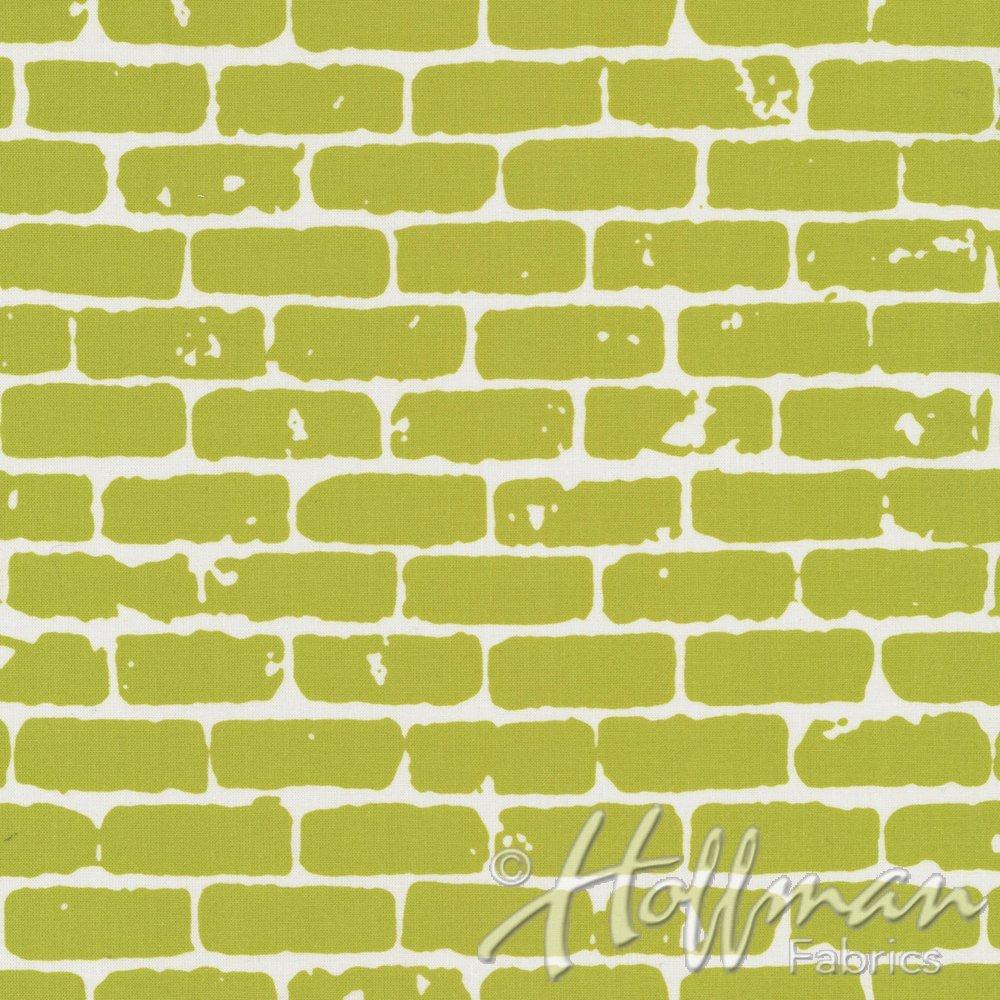 Grafic by Latifa Saafir - Green Bricks