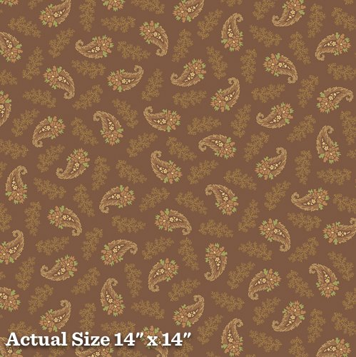 Pheasant and Traceries Paisley Brown