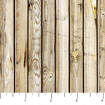 Rod and Reel Beige Multi-Wood Planks