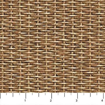 Rod and Reel Light Brown-Basket Weave