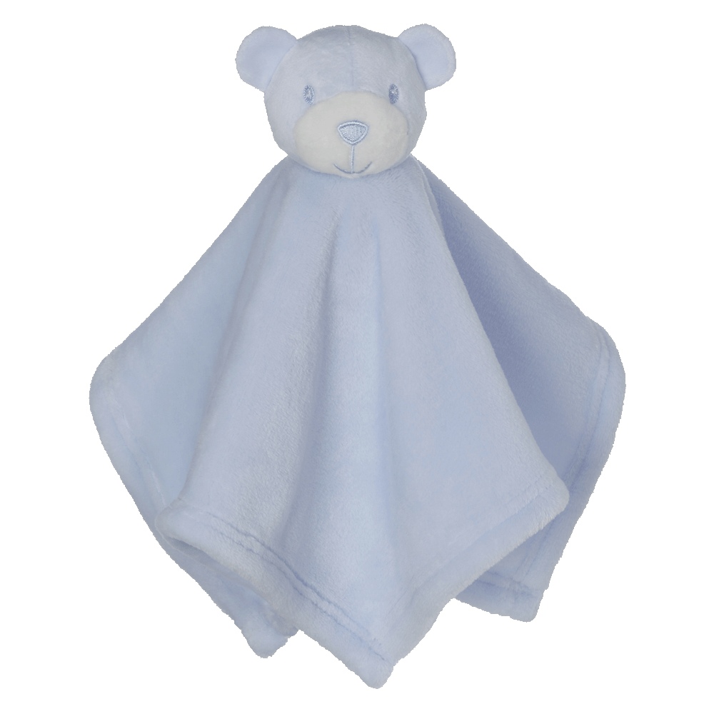 Mini Blue Bear Blankey Buddy