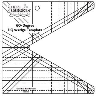 HQ 60 Degree Wedge Template