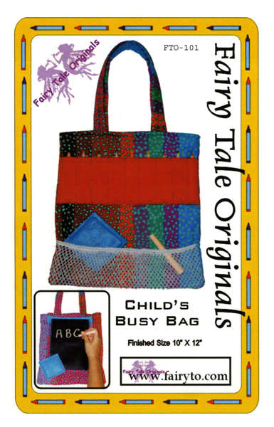 Child's Busy Bag Pattern