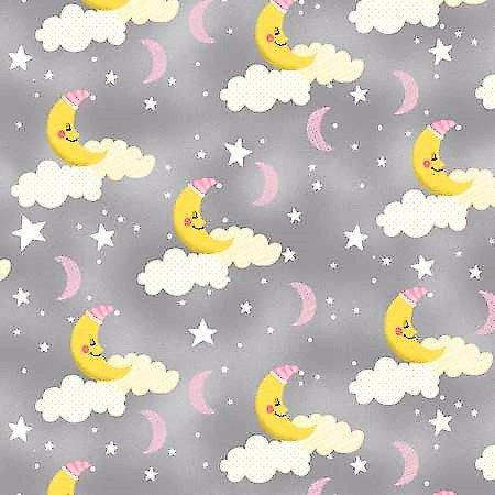 One Sheep Two Sheep Moons Grey