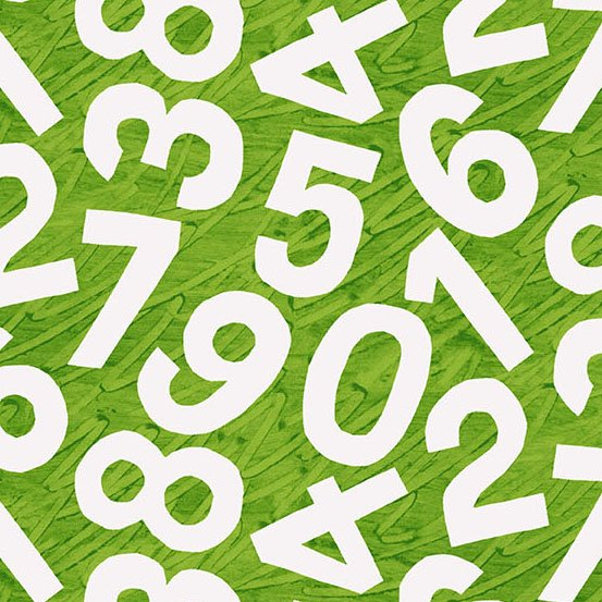 Hungry Caterpillar Green Numbers