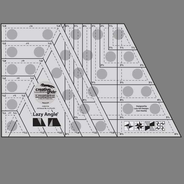 Creative Grids Lazy Angle Ruler