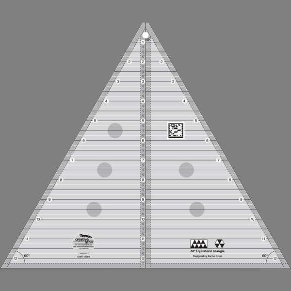 Creative Grids 60 degree Triangle 12-1/2in