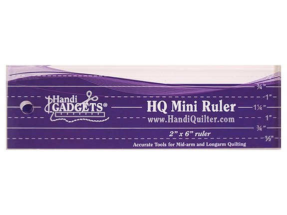 HQ Mini Ruler 2X6