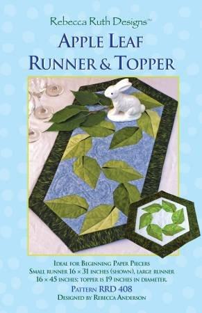 Apple Leaf Table Runner Pattern