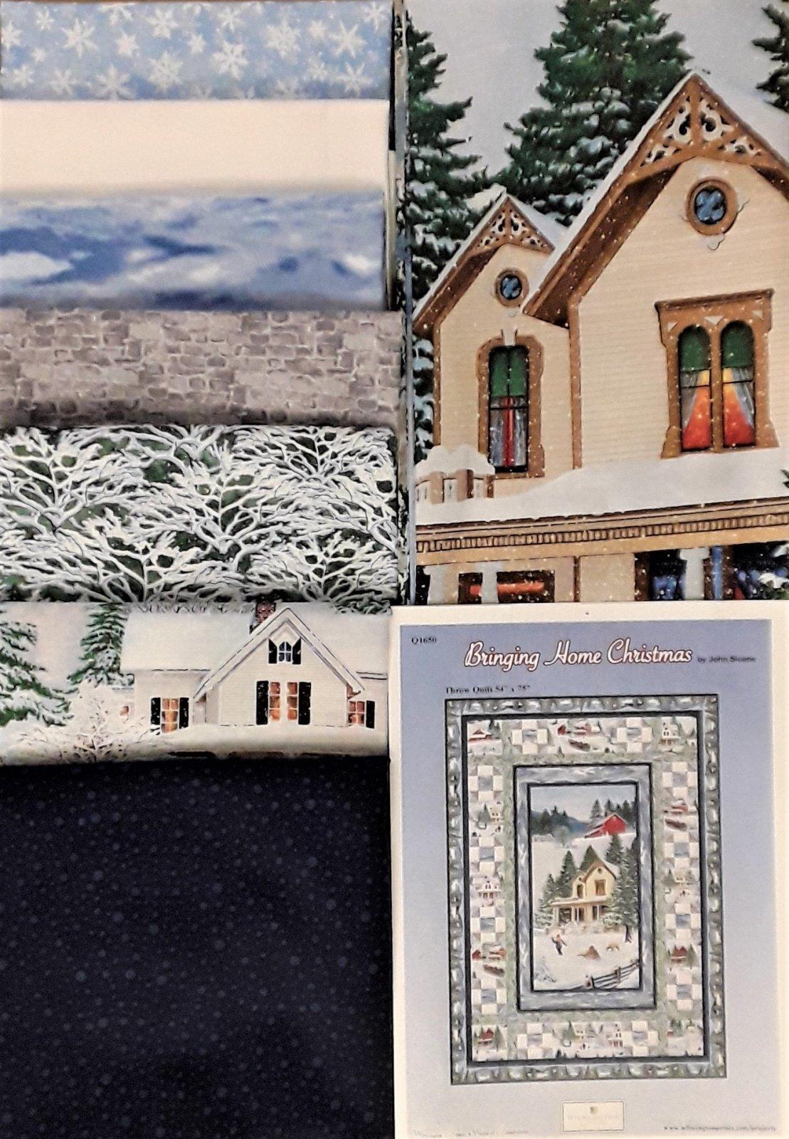 Bringing Home Christmas Quilt Kit