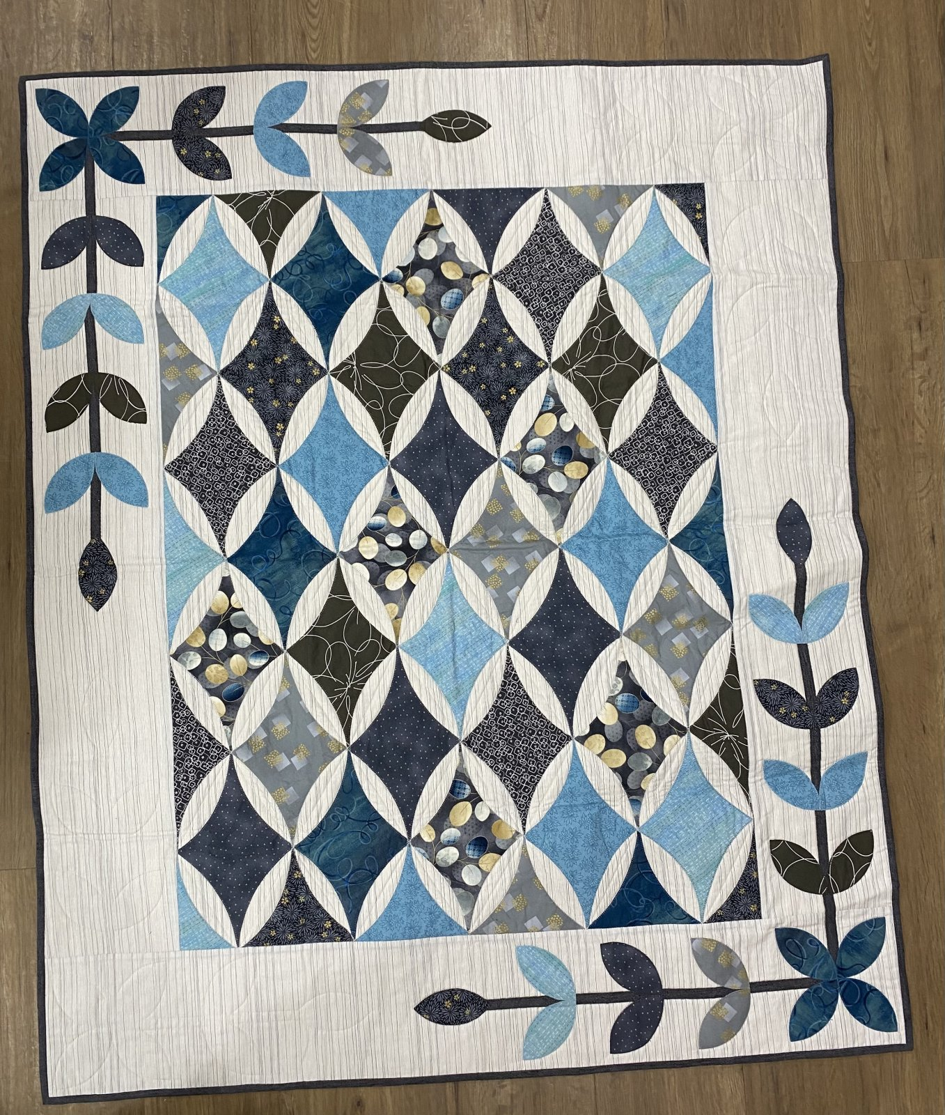 White Diamond Quilt