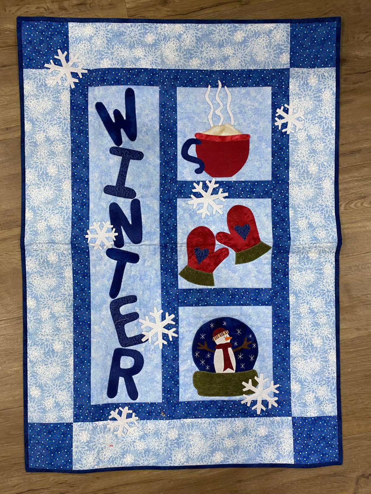 Applique Wall Hanging