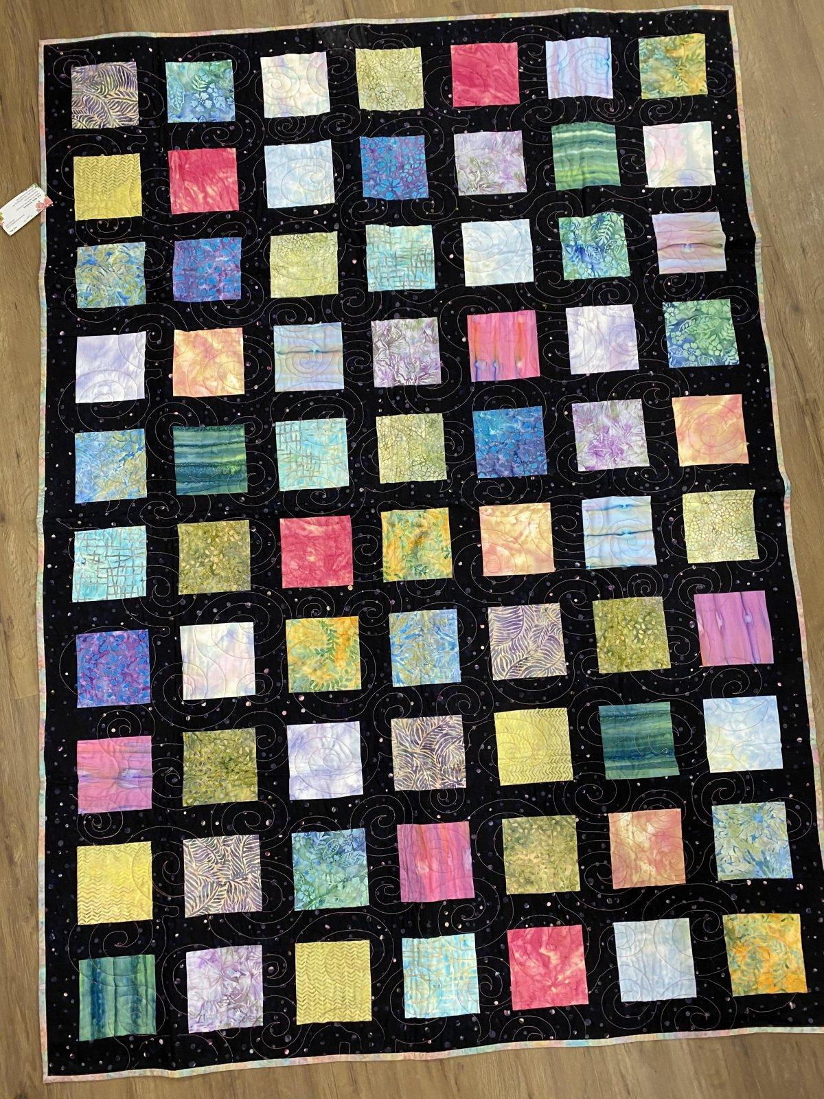 5 Square Quilt