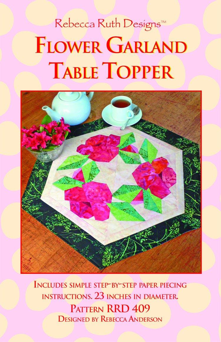 Flower Garland Table Topper Pattern