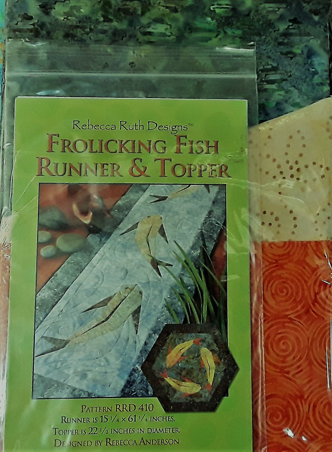 Frolicking Fish Quilt Kit
