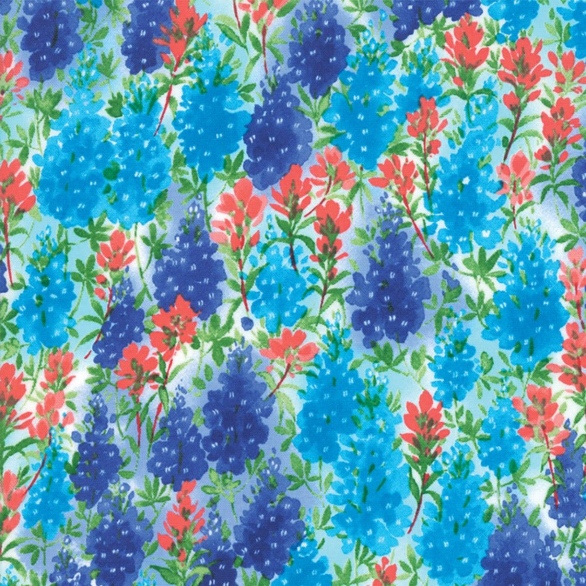 Fields of Blue by Moda-Ivory