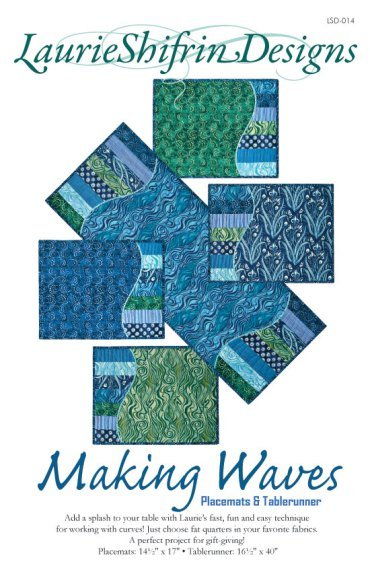 Making Waves Placemats and Tablerunner Pattern