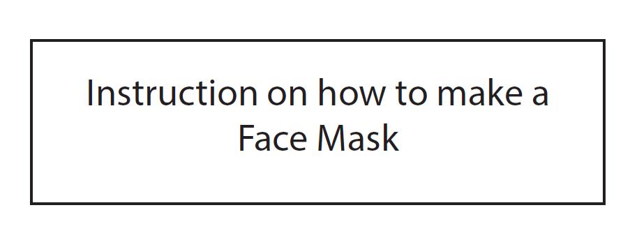Free Mask Pattern Download