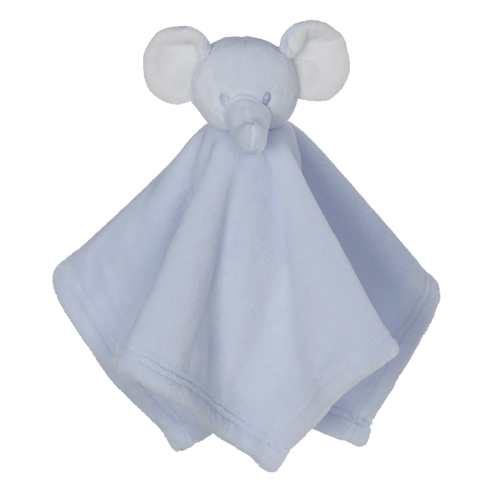 Mini Blue Elephant Blankey Buddy
