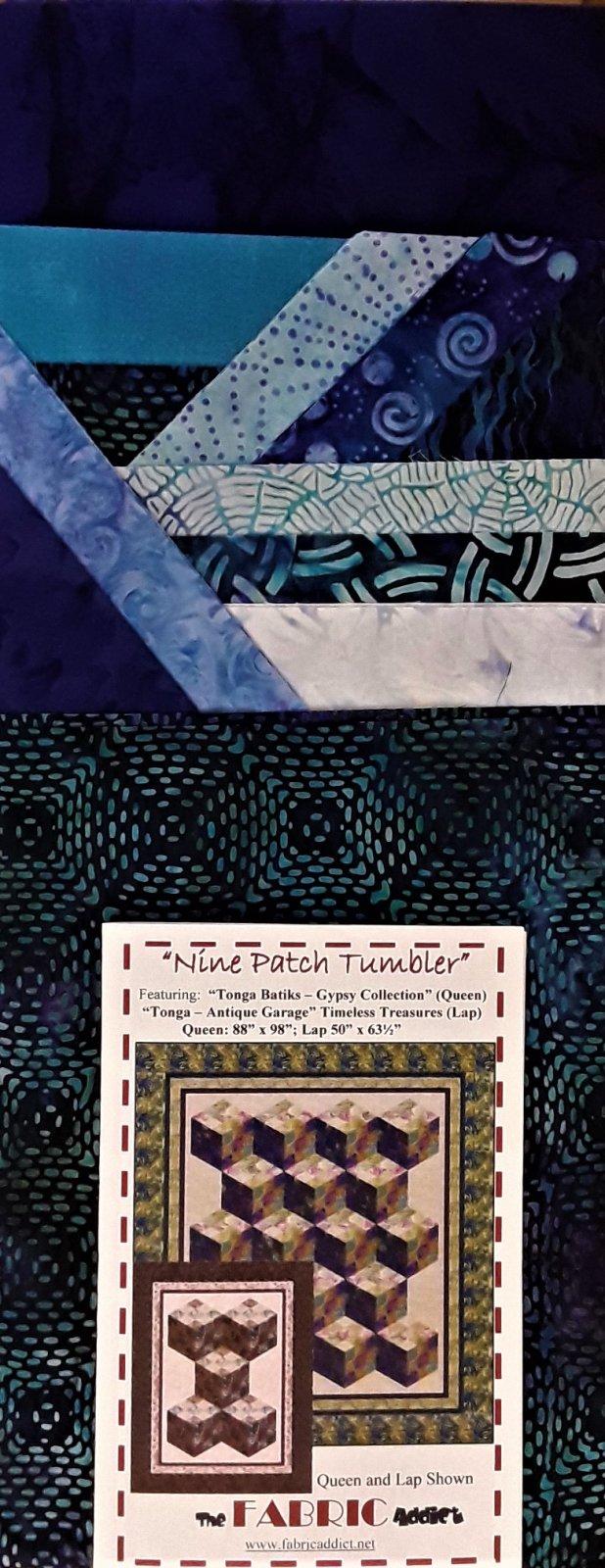 9 Patch Tumbling Block Kit