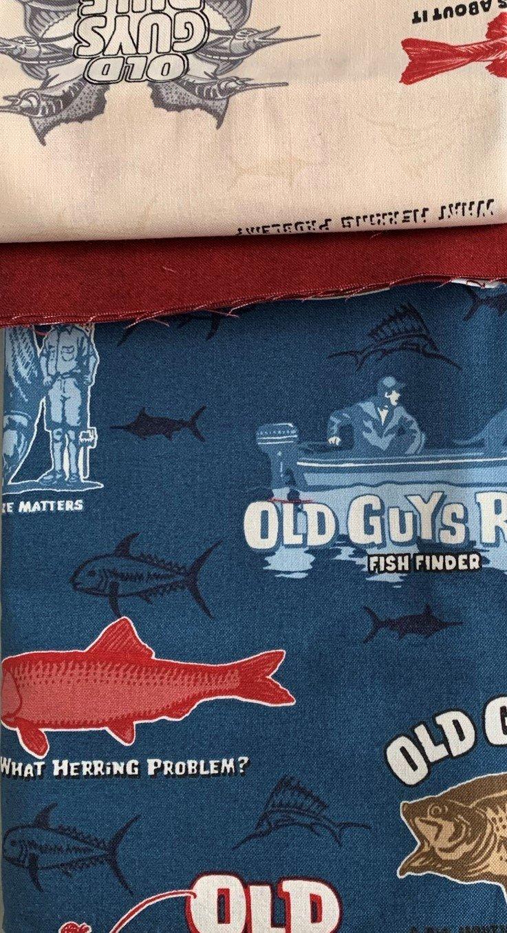 Pillowcase kit - Old Guys