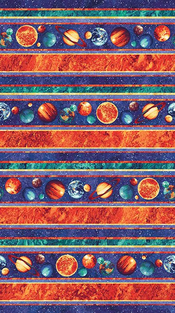 Out of This World Planet Stripe