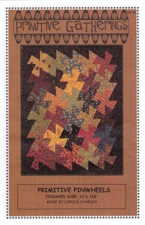 Primitive Pinwheels Pattern