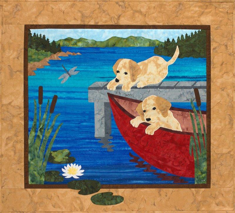 Puppy Canoe