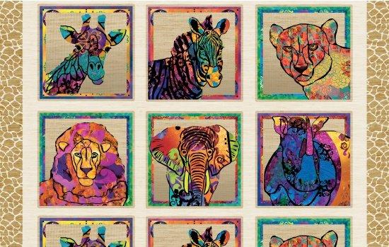 Serengeti Reflection Panel