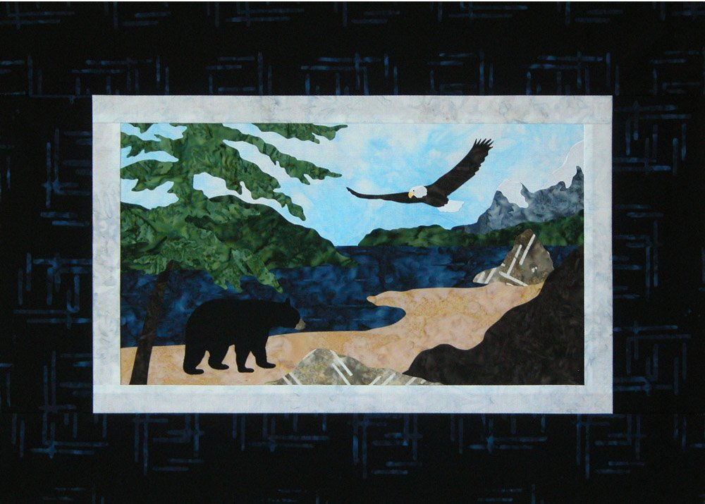 Pacific Coast Wallhanging 16.5 X 9.5