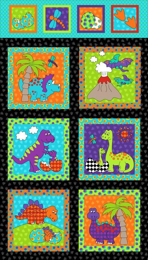 Dino Daze Panel