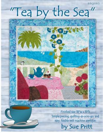 Tea by the Sea Quilt Kit