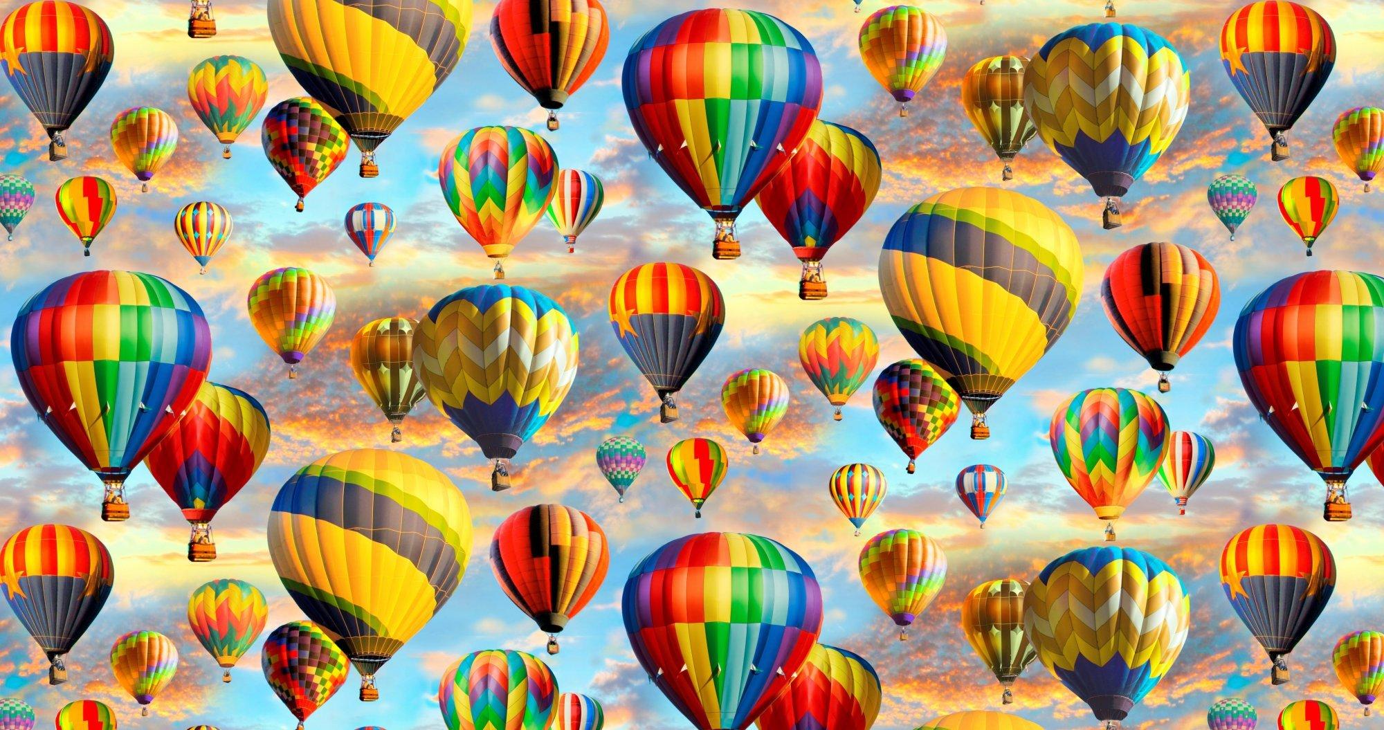 Hot Air Balloons 0033 Sunset