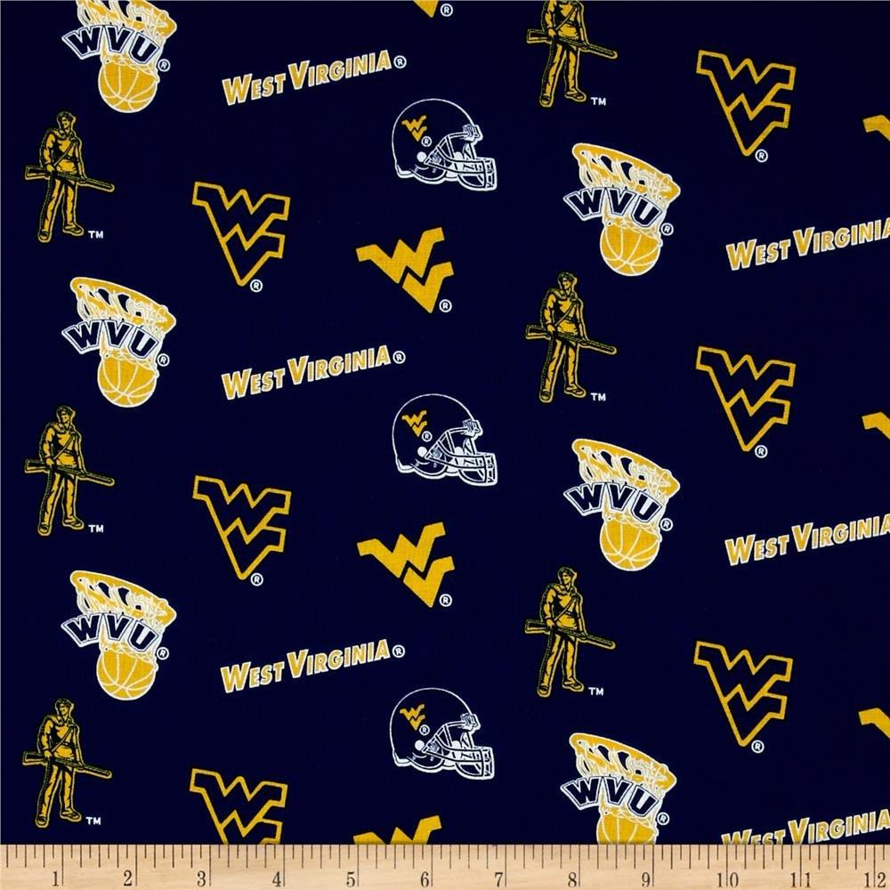 NCAA West Virginia Mountaineers 045 Blue