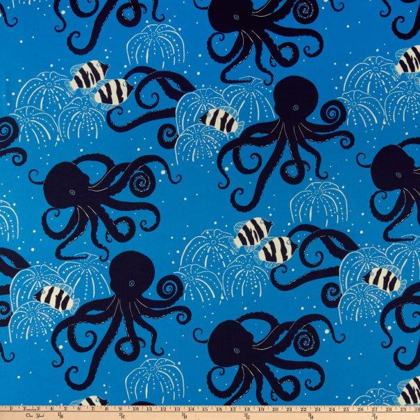 Octavius Octopus 8733 Blue