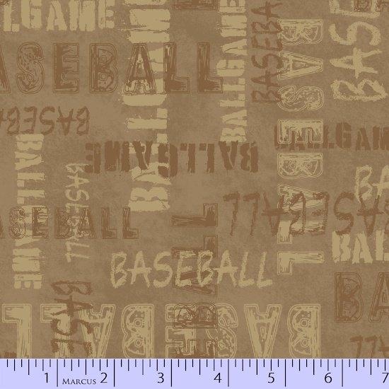 Baseball 0625-1013 Words Brown