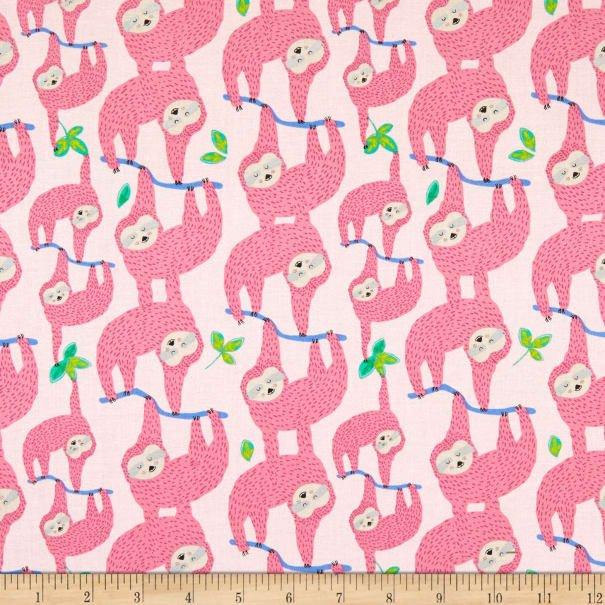 Sleepy Sloth 8818 Pink