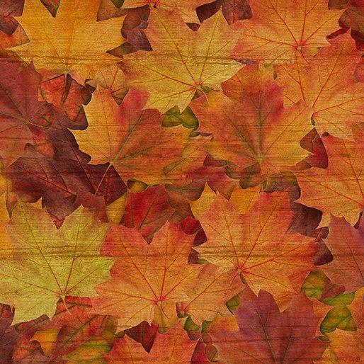 Fall Leaves Orange 10272-38