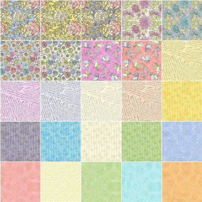Potpourri 10X10 Squares