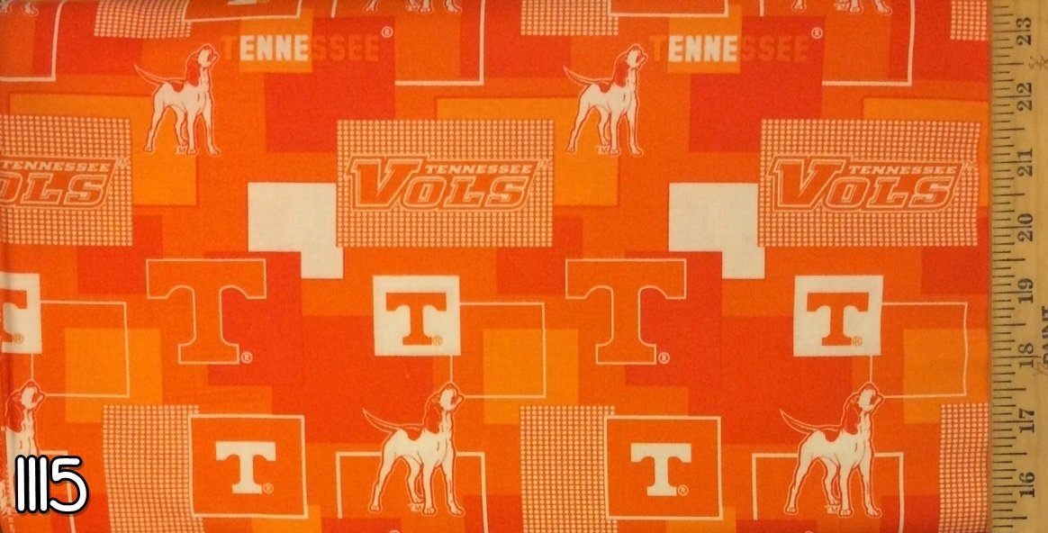 NCAA Tennessee Vols 1115 Patch