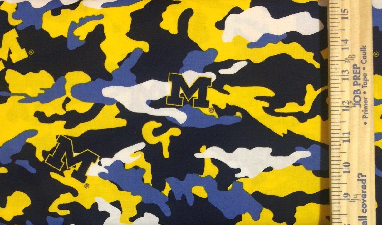 NCAA Michigan Wolverines 805 Camo