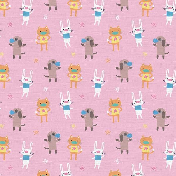 Mask Up 120-21769 Pink Animals